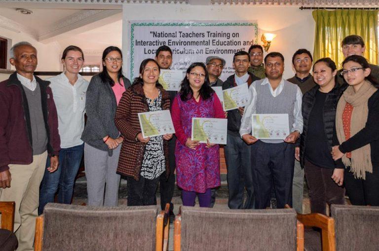 Eco Teachers Awarded