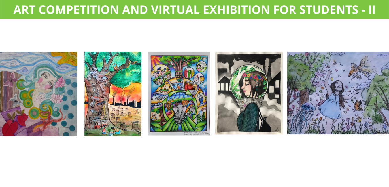Art Competition and Virtual Exhibition for Students - II