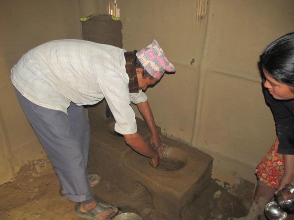 Training and Installation of Improved Cooking Stoves (ICS)