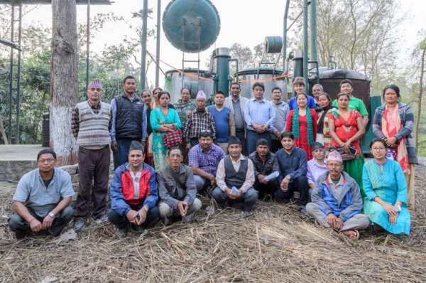 Promoting Green Enterprises In The Community Forests Of Nepal