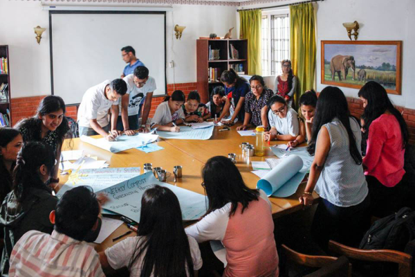 Teachers Training and National Eco-Teacher Network