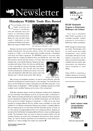 Newsletter 2005 Issue 2 Vol. 2