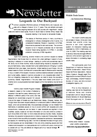 Newsletter 2006 Issue 1 Vol. 3