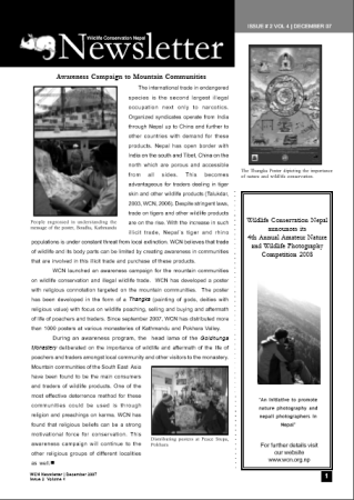 Newsletter 2007 Issue 2 Vol. 4
