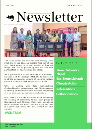 Newsletter 2019 Issue 1 Vol. 17