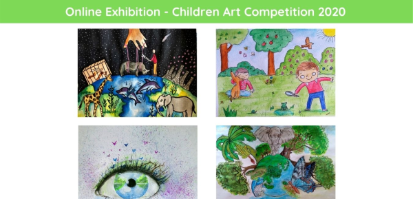 Online Exhibition - Children Art Competition 2020